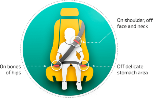 Mifold Does Exact The Oppositeinstead Of Lifting Child Up It Holds Seatbelt Down